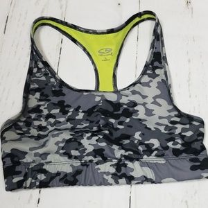 Champion Gray Camo Sports Bra